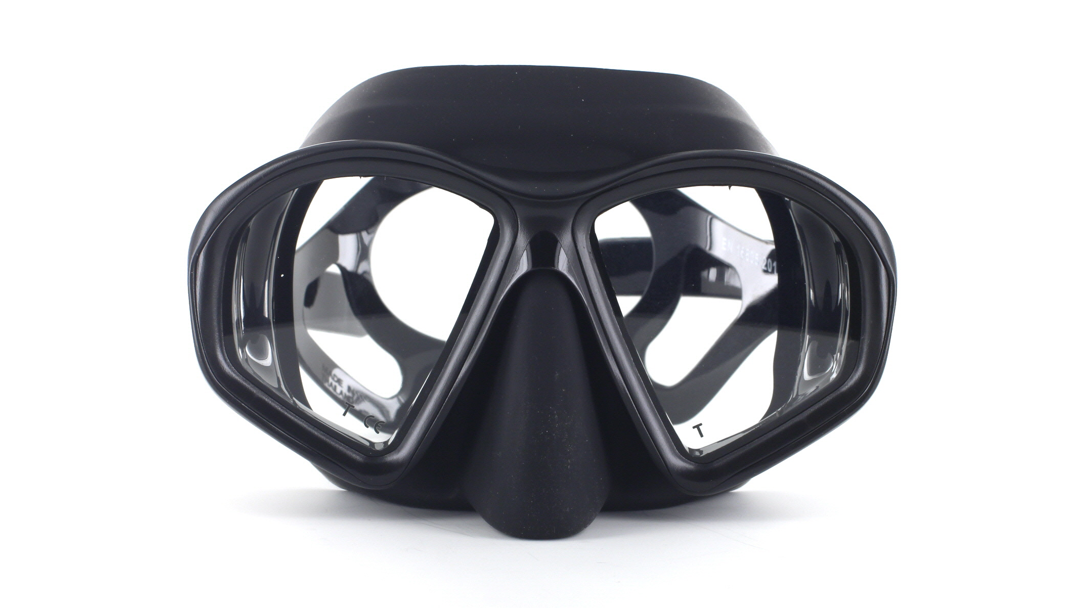 Mares Sealhouette SF - Black - Apnoe Tauchmaske Front Ansicht