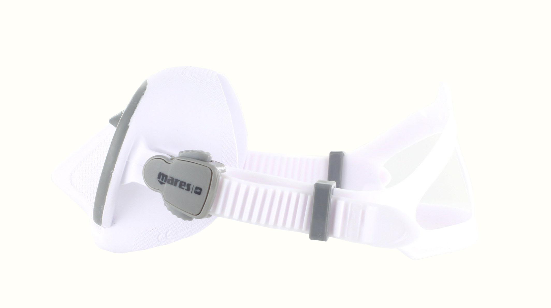 Mares X-Free - White/Grey - Apnoe Seitliche Ansicht