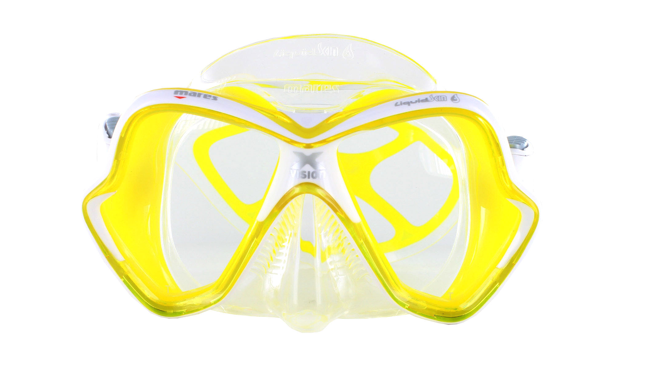 Mares X-Vision Ultra LS - Clear/Yellow front Ansicht