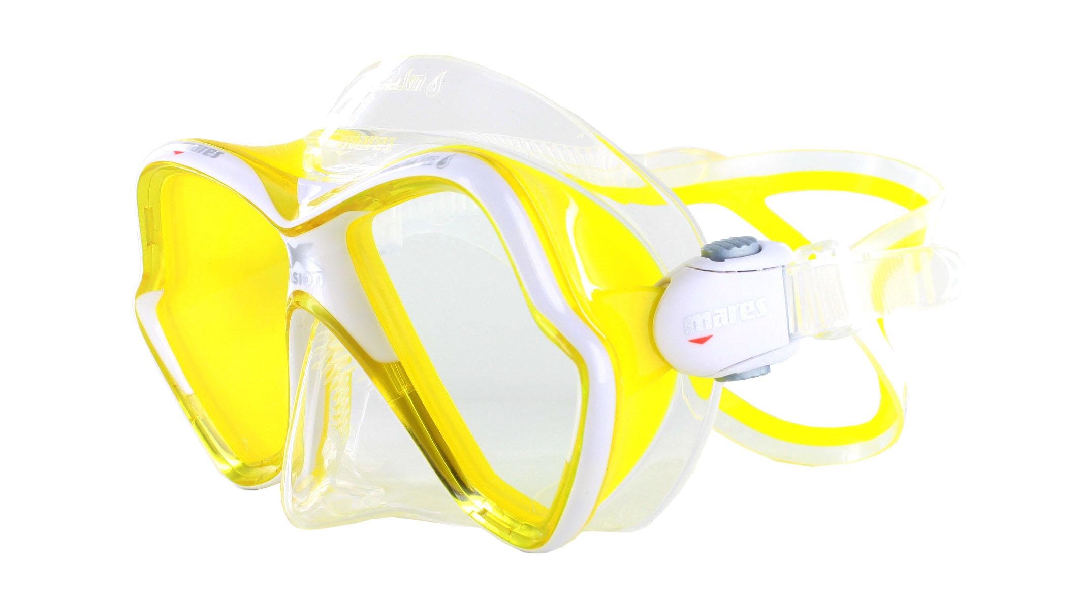 Mares X-Vision Ultra LS - Clear/Yellow Schräge Ansicht