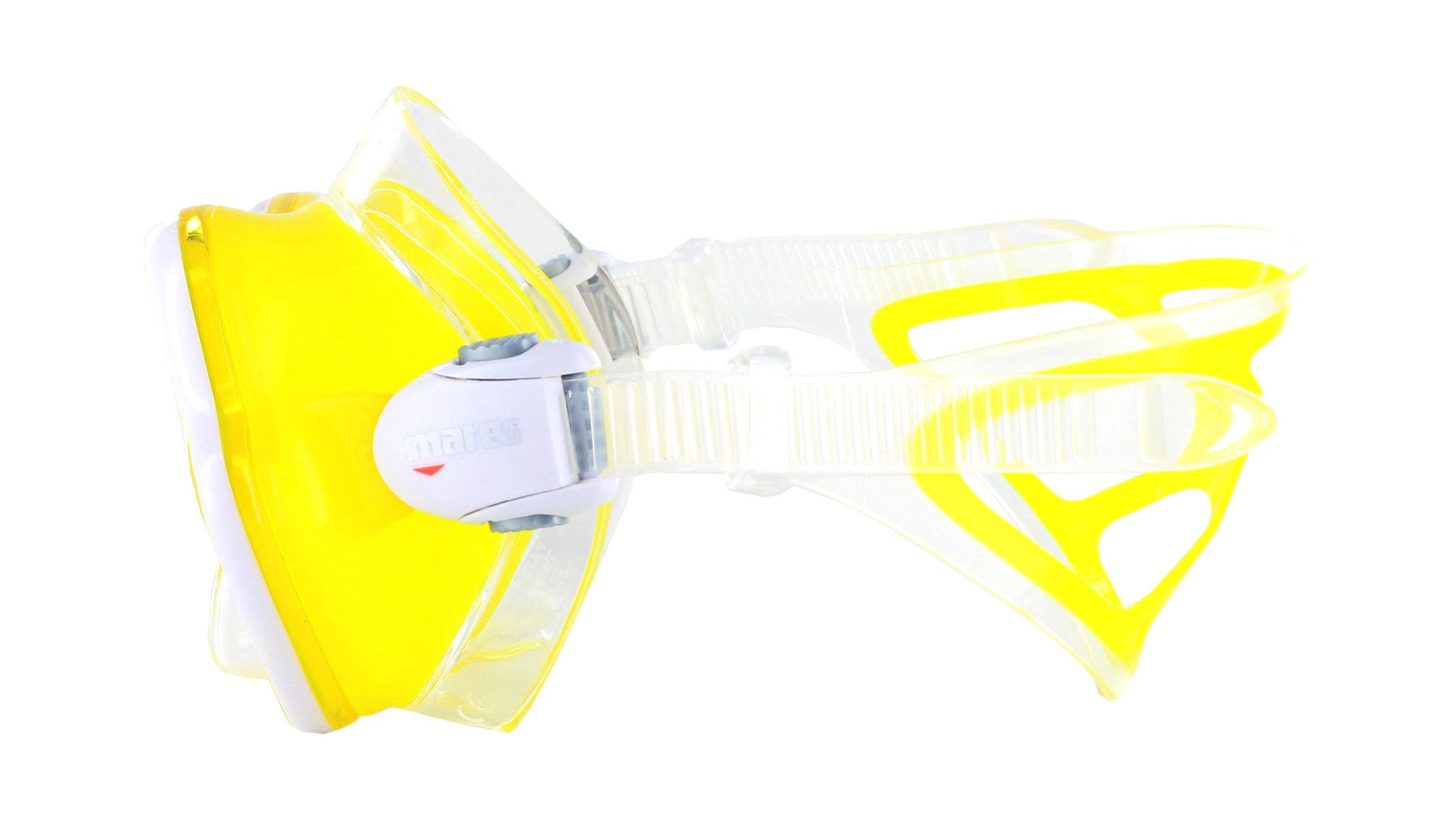 Mares X-Vision Ultra LS - Clear/Yellow Seitliche Ansicht