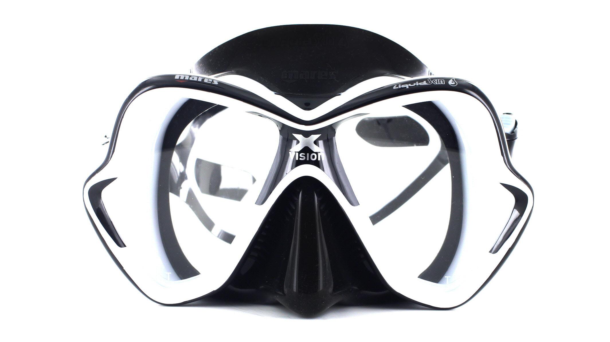 Mares X-Vision Ultra LS - White/Black Front Ansicht
