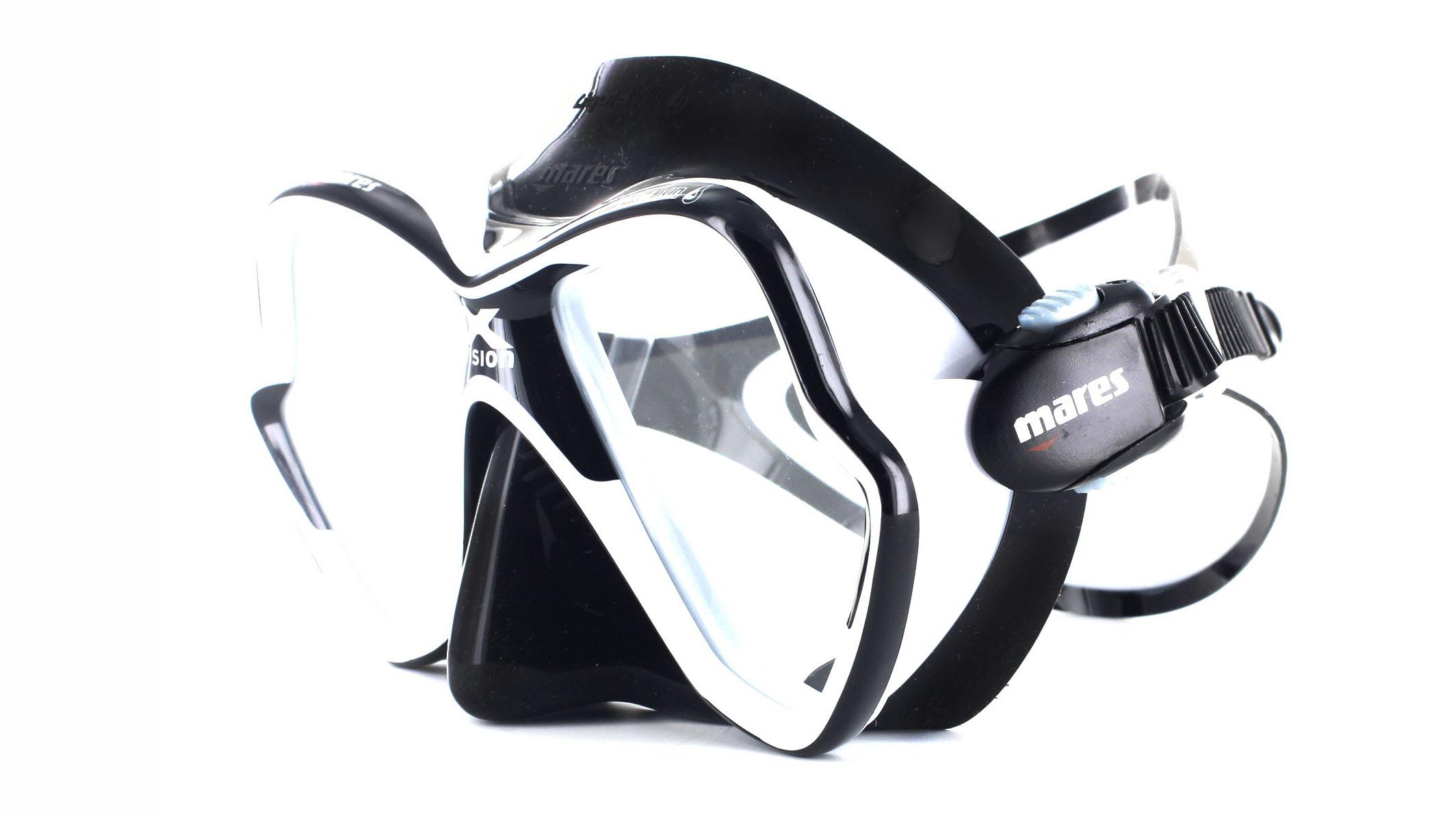 Mares X-Vision Ultra LS - White/Black Schräge Ansicht