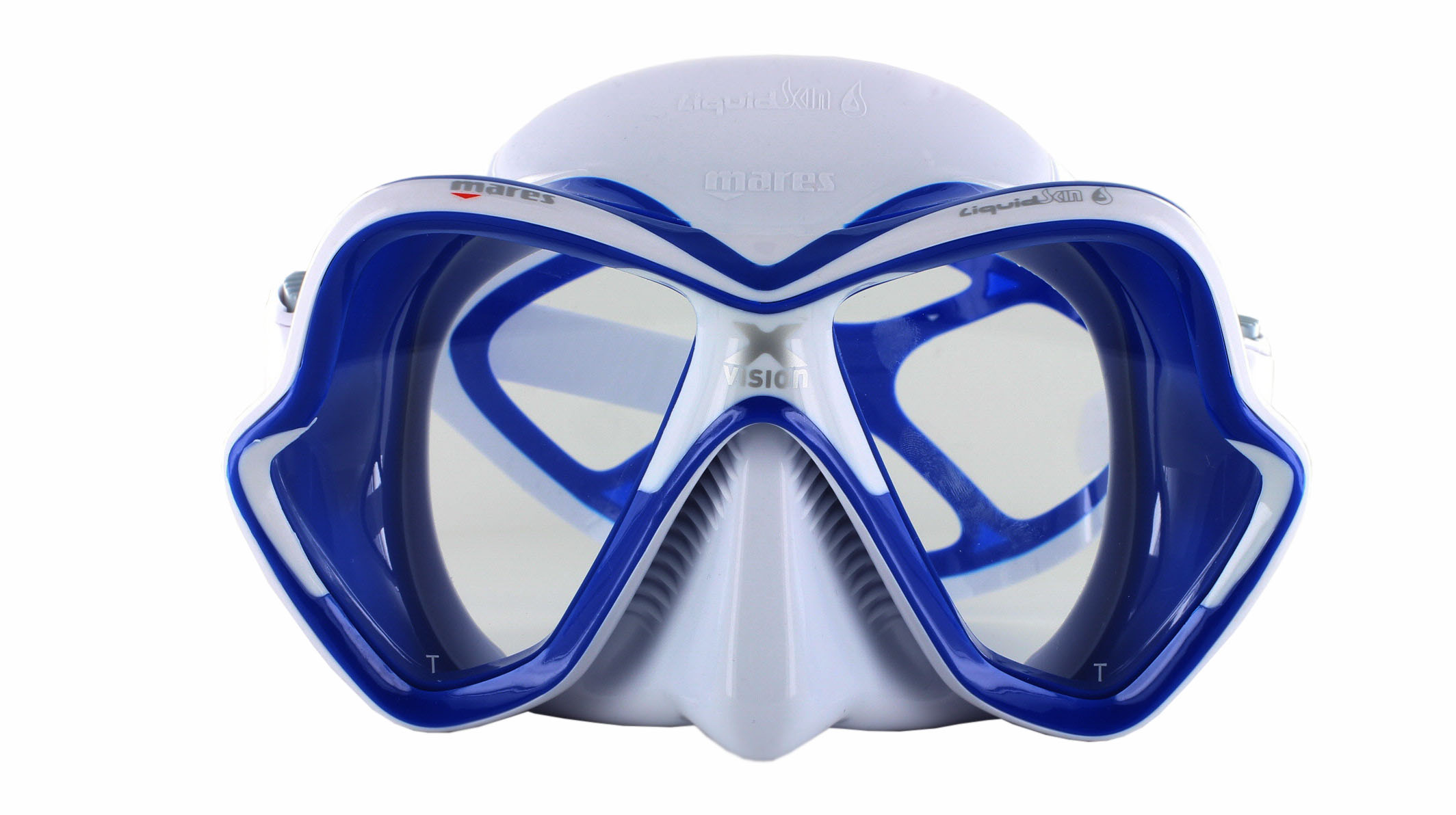 Mares X-Vision Ultra LS - White/Blue Front Ansicht