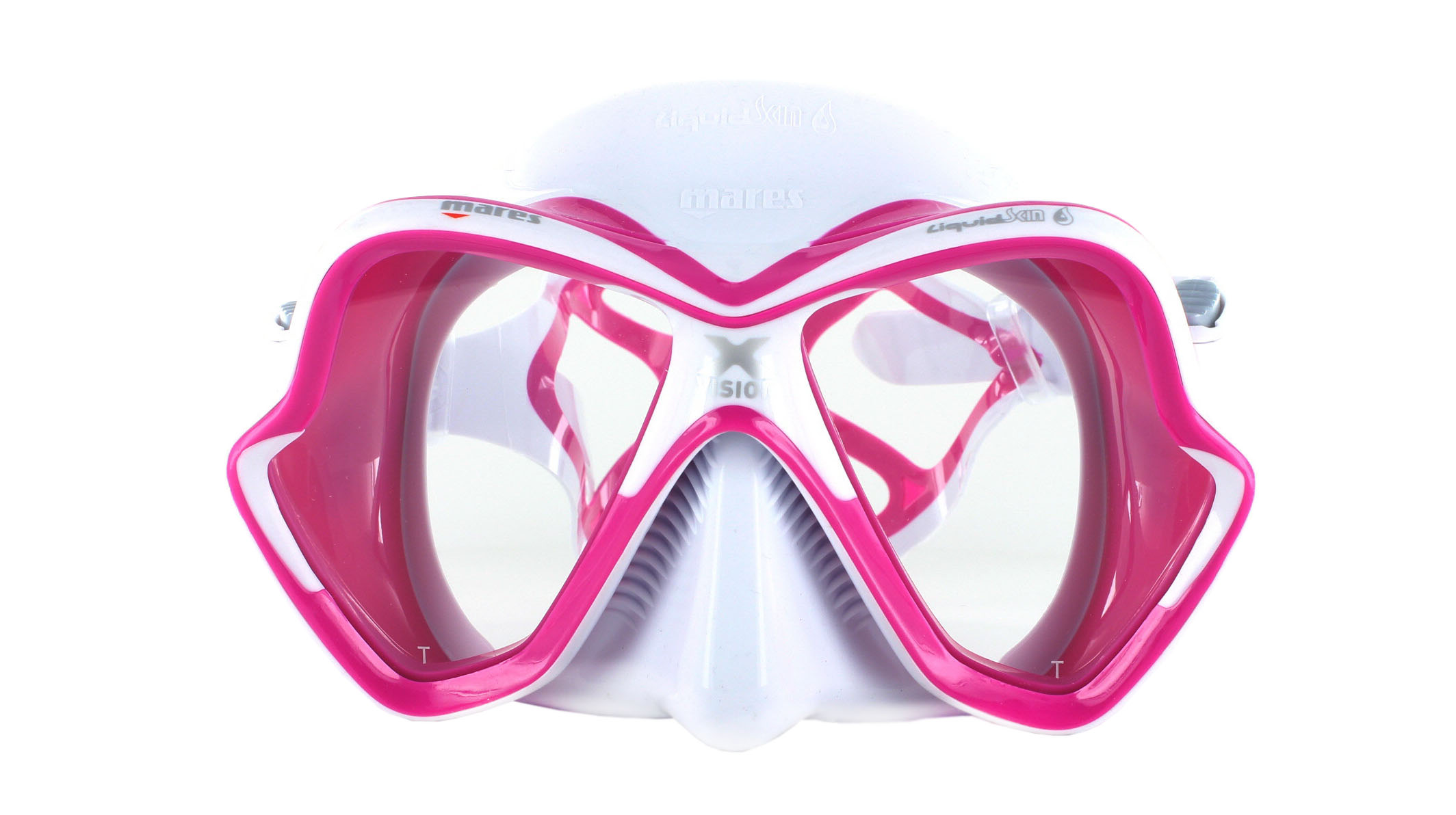 Mares X-Vision Ultra LS - White/Pink Front Ansicht