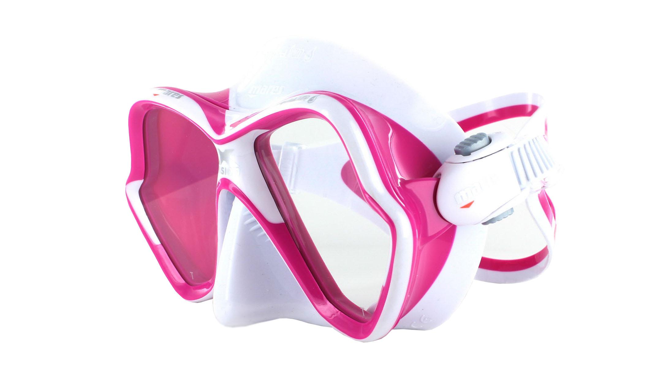 Mares X-Vision Ultra LS - White/Pink Schräge Ansicht