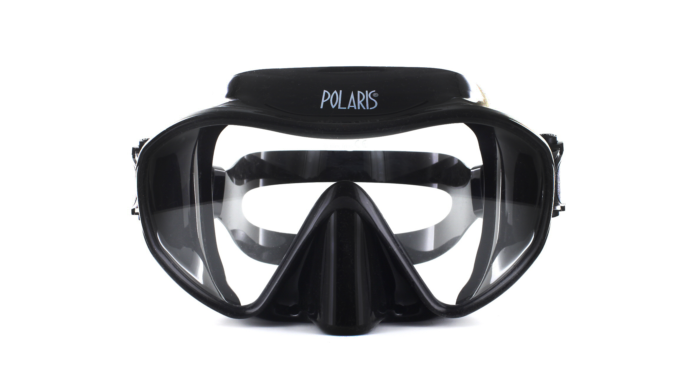 Polaris Frameless Black Silicon - Black Front Ansicht