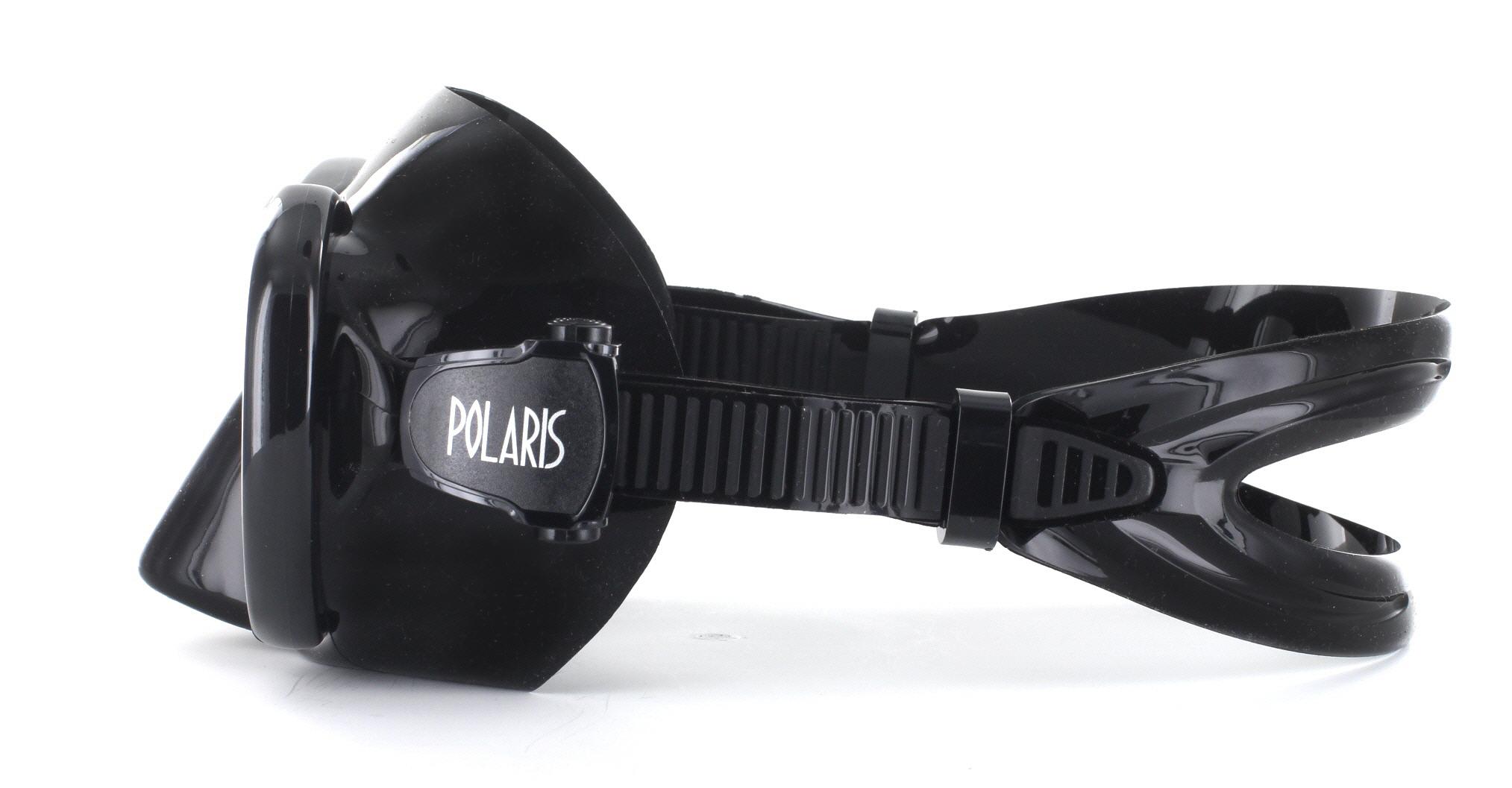 Polaris Ruby Black Silicon - Black Seitliche Ansicht