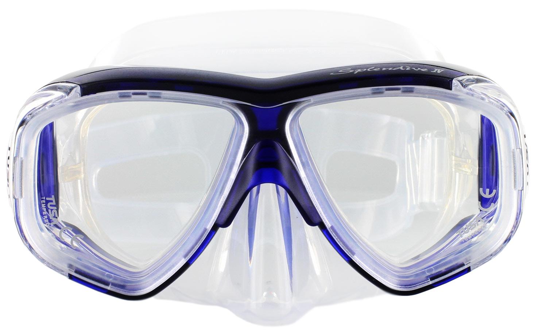 Tusa Splendive M-40 Clear Silicon - Blue Front Ansicht