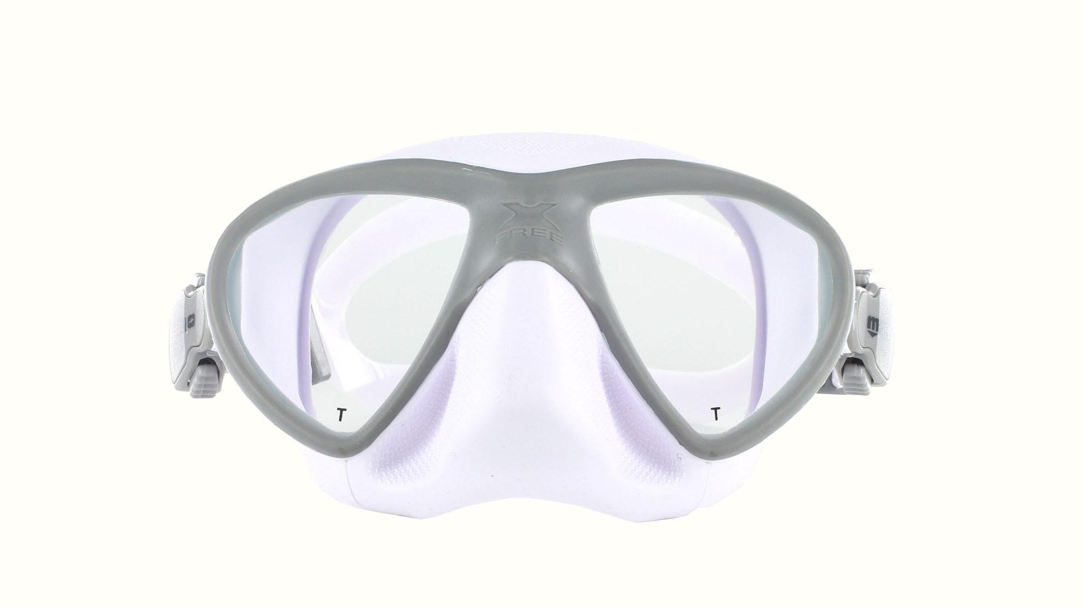Mares X-Free - Apnoe - weiß grau