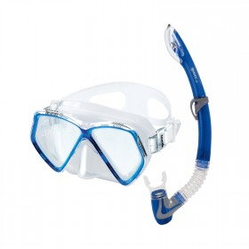 Schnorchelset Kinder - Mares Pirate - transparent blau