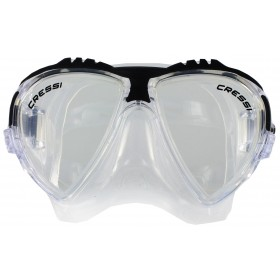 Cressi Matrix Clear Silicon - Black
