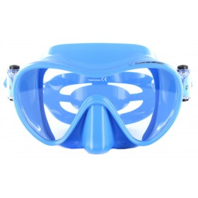 Cressi F1 Small - transparent blau