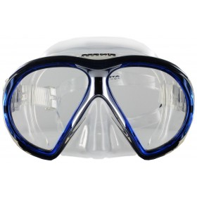 Atomic Aquatics SubFrame Clear Silicon - Blue