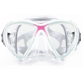 Cressi Big Eyes Evolution Crystal Silicon - Pink
