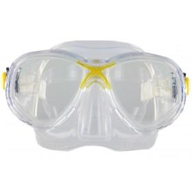 Cressi Marea Jr. Clear Silicon - Yellow