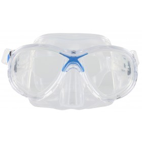 Cressi Marea Jr. Clear Silicon - Blue