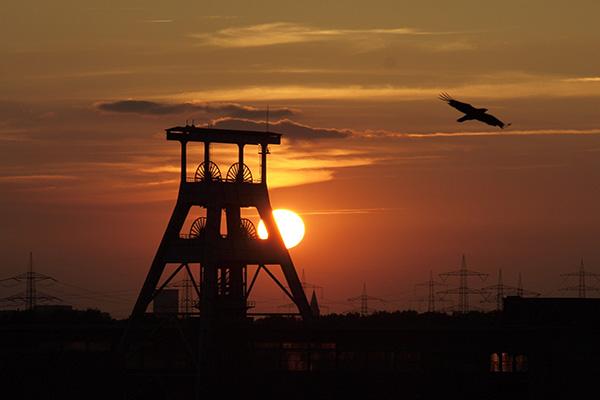 Zeche im Ruhrgebiet