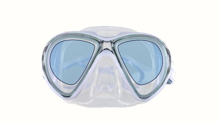 Taucherbrille mit Einstärkengläsern